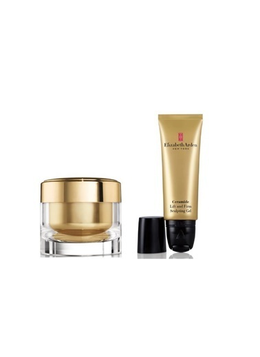 Elizabeth Arden Elizabeth Arden Ceramide Lift Sculp Jel 50 Ml+Ceramide Lift Firm Night Krem 50 Ml Renksiz